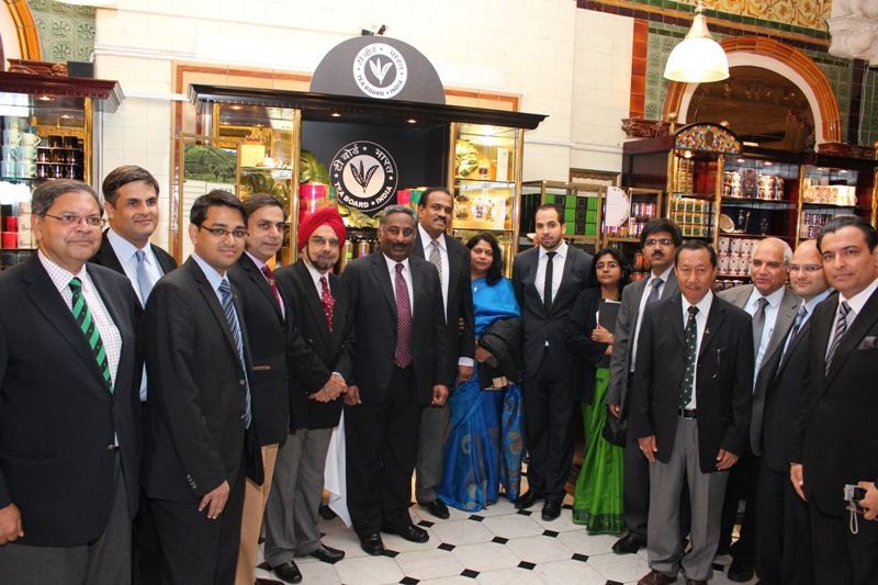 Tea Board's promotion of Indian Tea at Harrods London-light-box