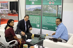 Shri M.G. V.K. Bhanu, in a meeting with Mr. Joe Simrany, President, US Tea Association