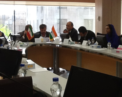 Meeting with the Commercial Banks of Iran in presence of the Indian Ambassador to Iran