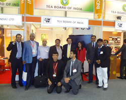 Indian Participants at Tea Board Pavilion